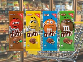 M&M´s Block ab sofort im Großhandel erhältlich