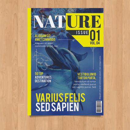 """""""Float"""" en couverture de magazine naturaliste"""
