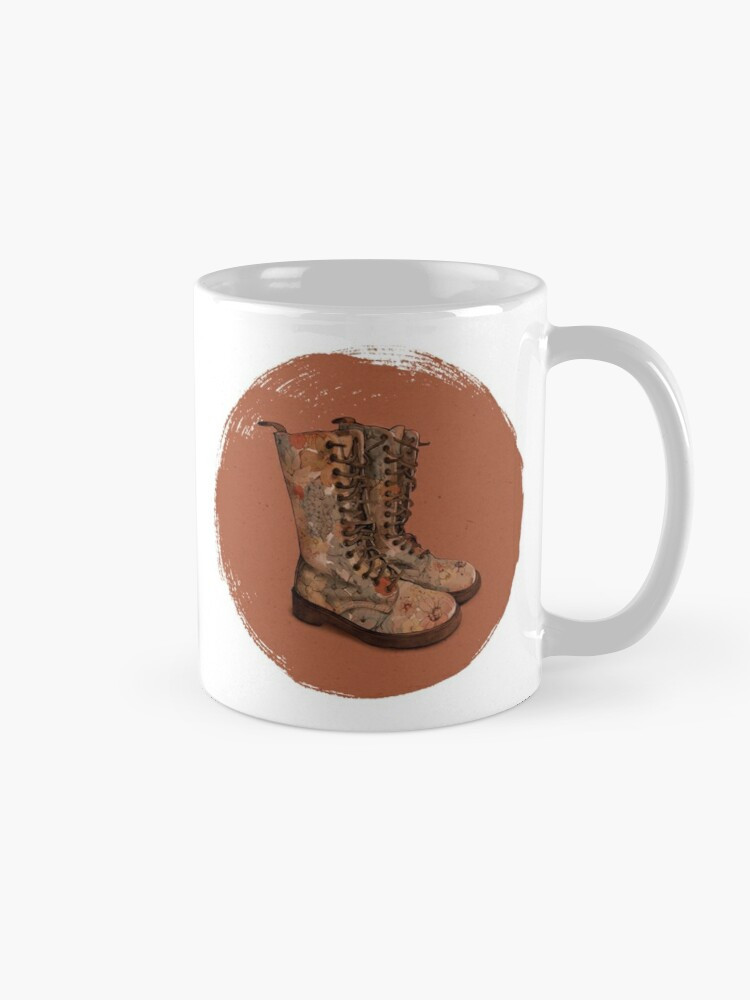 """These boots"" mug"