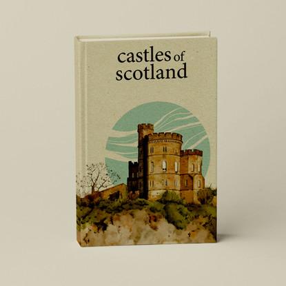 """""""Brian's castle"""" en couverture de bouquin"""