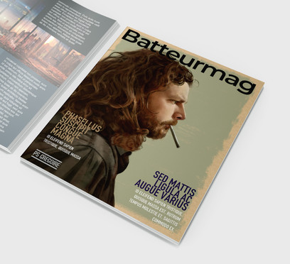 Gregoire en couverture de magazine de musique