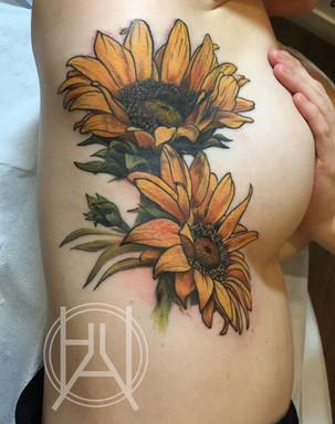 Sunflowers on side (coverup).jpg