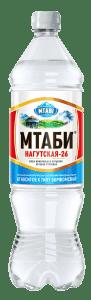 """Минеральная питьевая вода """"Мтаби"""" 1.25 л"""