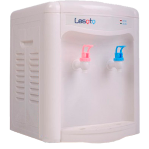 Кулер для воды LESOTO 34TK white без охлаждения