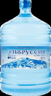 """Минеральная талая вода """"Эльбруссия"""" из Тебердинского заповедника 19 л."""