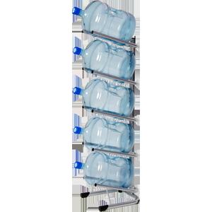 Стойка-подставка для 5 бутылей