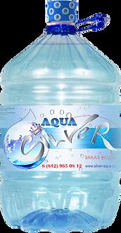 """Вода питьевая серебряная  """"Aqua Silver ПЭТ"""" в одноразовой таре 19л."""