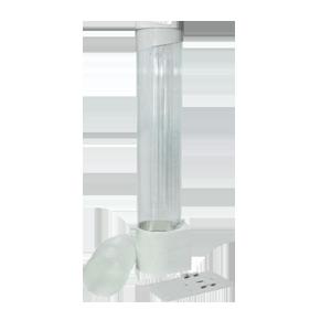 Стаканодержатель магнитный/на шурупах белый