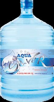 """Серебряная питьевая вода """"Aqua Silver"""" обогащенная ионами серебра 19л."""