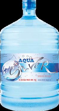 """Вода питьевая серебряная  """"Aqua Silver"""" обогащенная серебром."""
