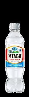 """Минеральная лечебно-столовая вода """"Мтаби"""" 0.5 л"""