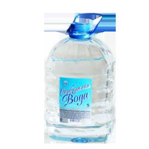 """Вода ионизированная серебром """"Серебряная вода"""" 5л"""