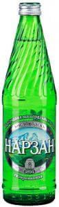 """Минеральная лечебно-столовая вода """"Нарзан"""" 0.5л стекло"""