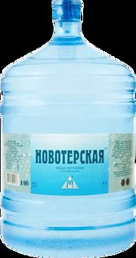 Минеральная вода Новотерская