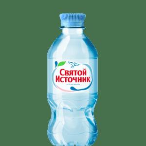 """Минеральная вода """"Святой источник"""" 0.33л"""