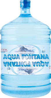 """Артезианская питьевая вода """"Aqua Fontana"""" с Карельского перешейка 185 м. 19 л."""