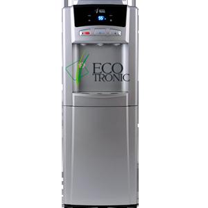 Кулер для воды Ecotronic M6-LCPM silver со шкафчиком