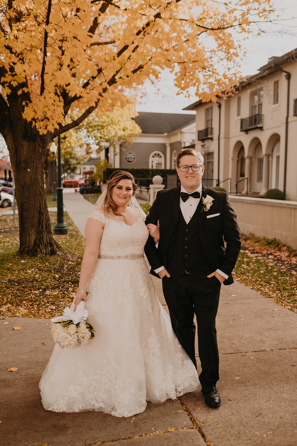 Rochester Michigan wedding photos. Photographed by Nicole Leanne Photography.