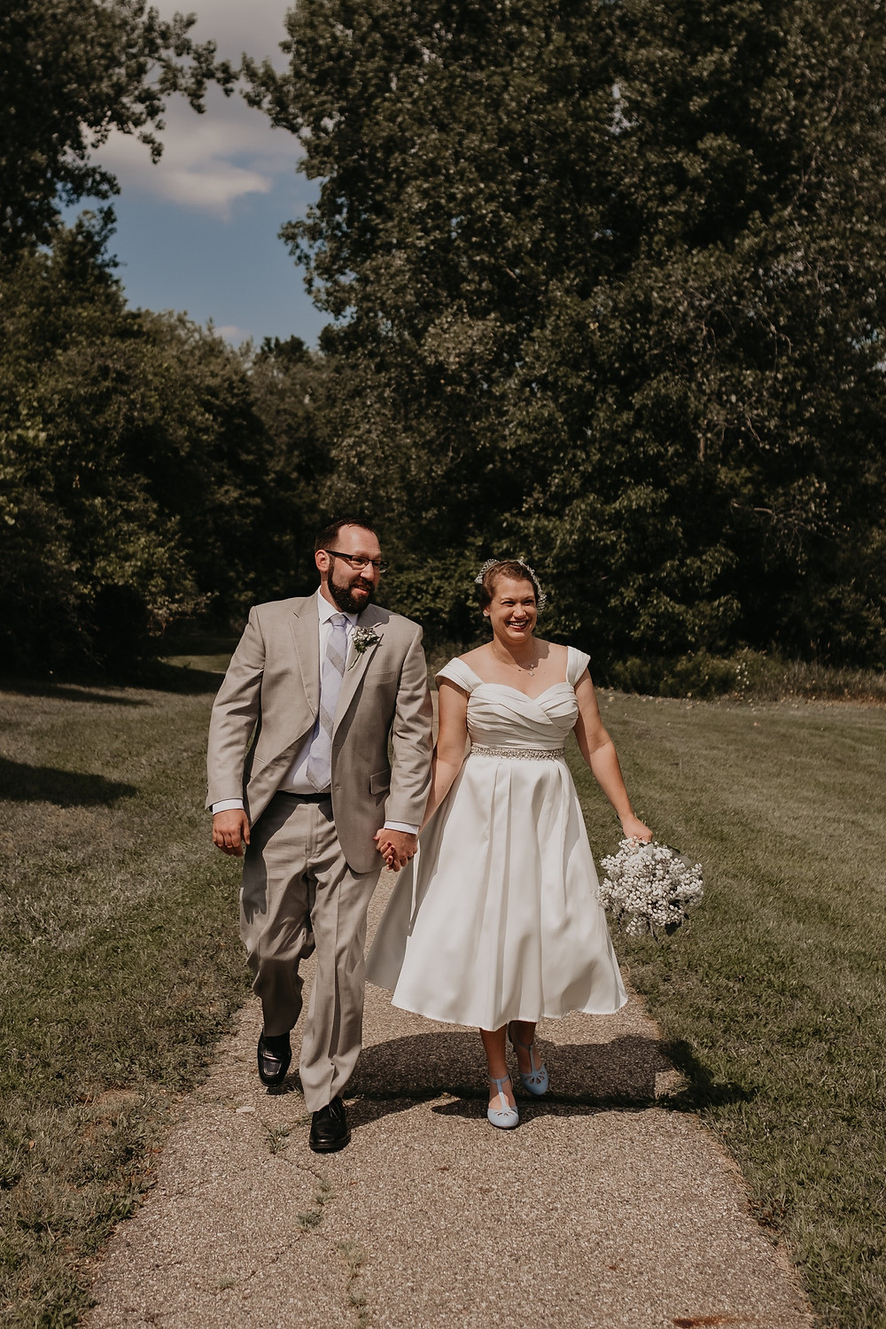 Meridian Historical Village wedding photos. Photographed by Nicole Leanne Photography.