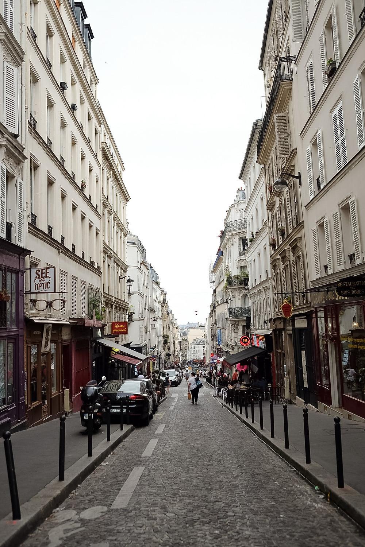 montmarte, side street