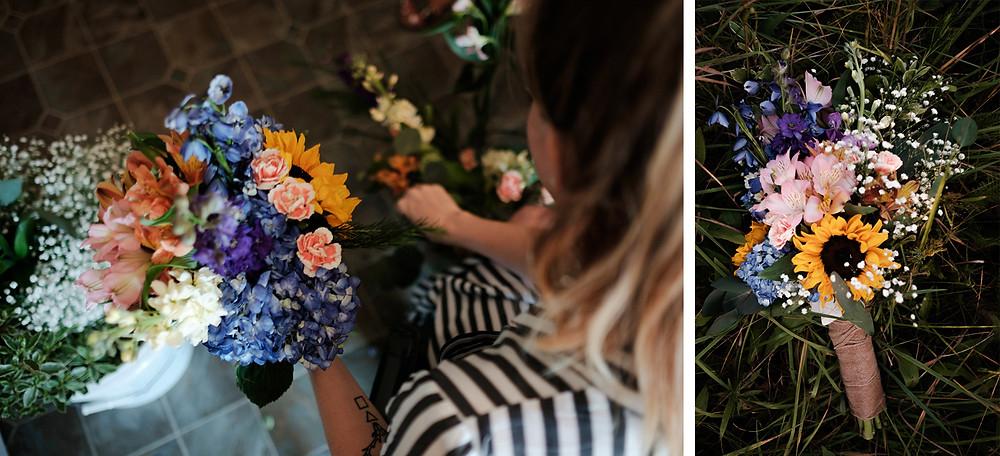 trader joes flowers, wedding