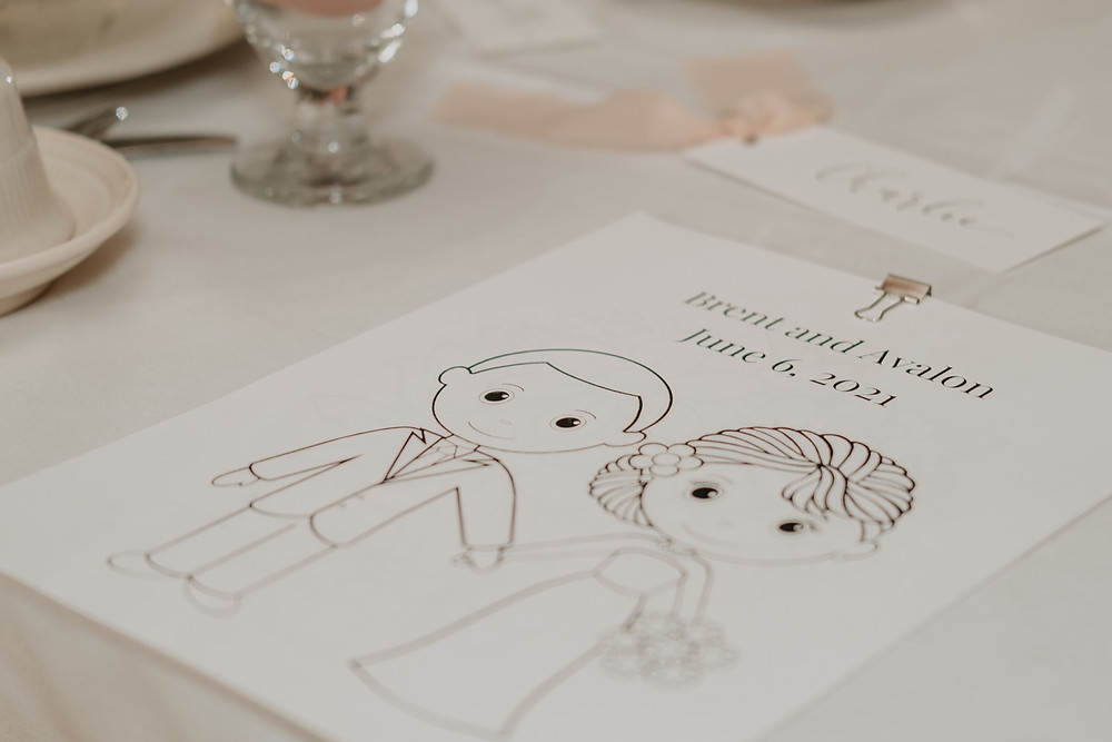 Personalized wedding details. Photographed by Nicole Leanne Photography.