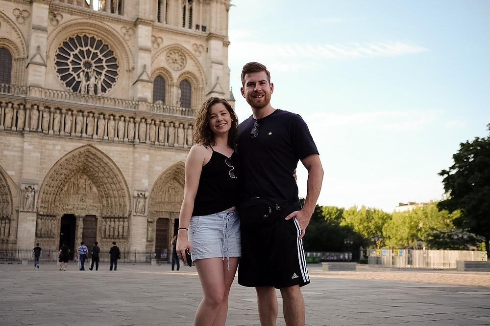 Notre Dame, tourists