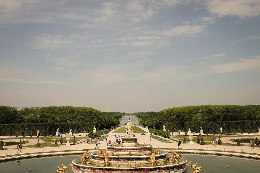 garden overlook, Château de Versailles