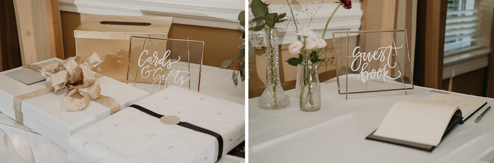 Wedding day decor details. Photographed by Nicole Leanne Photography.