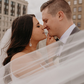 Ali + Jake | Element Detroit at The Metropolitan + The Monarch Club Wedding
