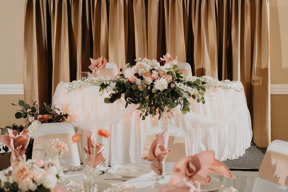 Wedding decor and centerpieces. Photographed by Nicole Leanne Photography.