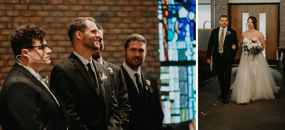 Wedding ceremony candids. Photographed by Nicole Leanne Photography.