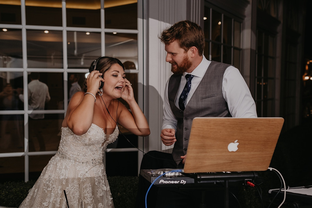 Wedding reception candid shots. Photographed by Nicole Leanne Photography.