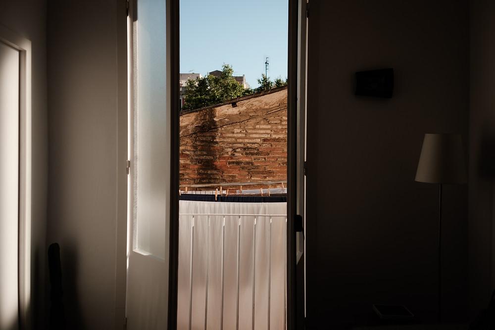 Airb&b, barcelona, open windows