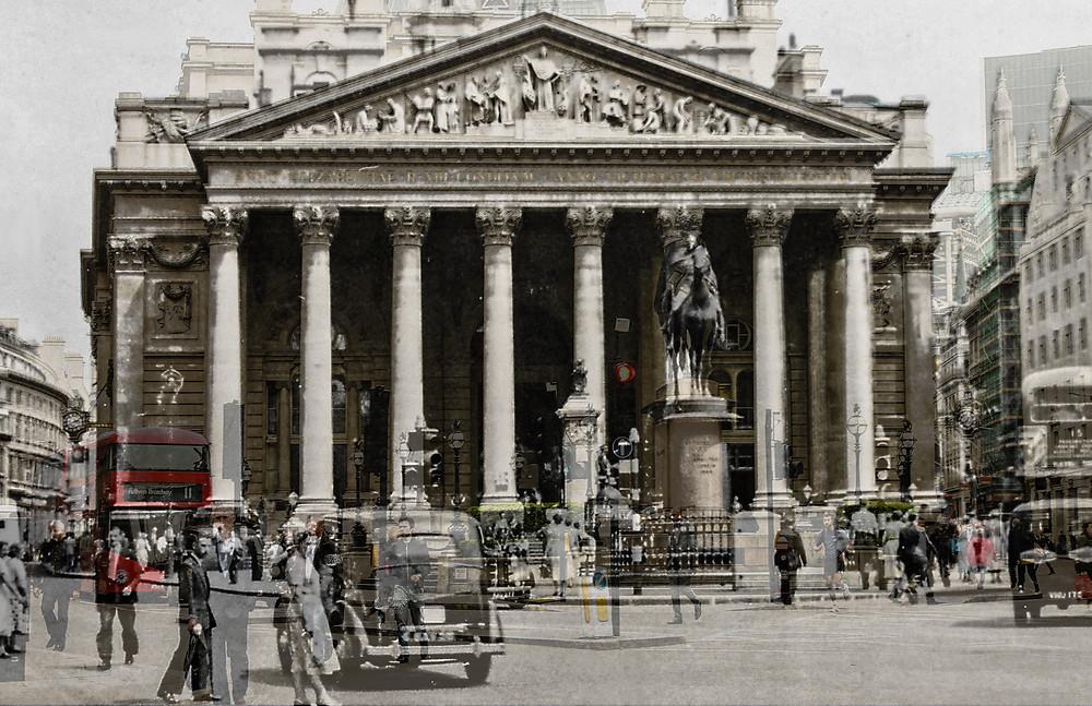 Royal London Exchange, London, England