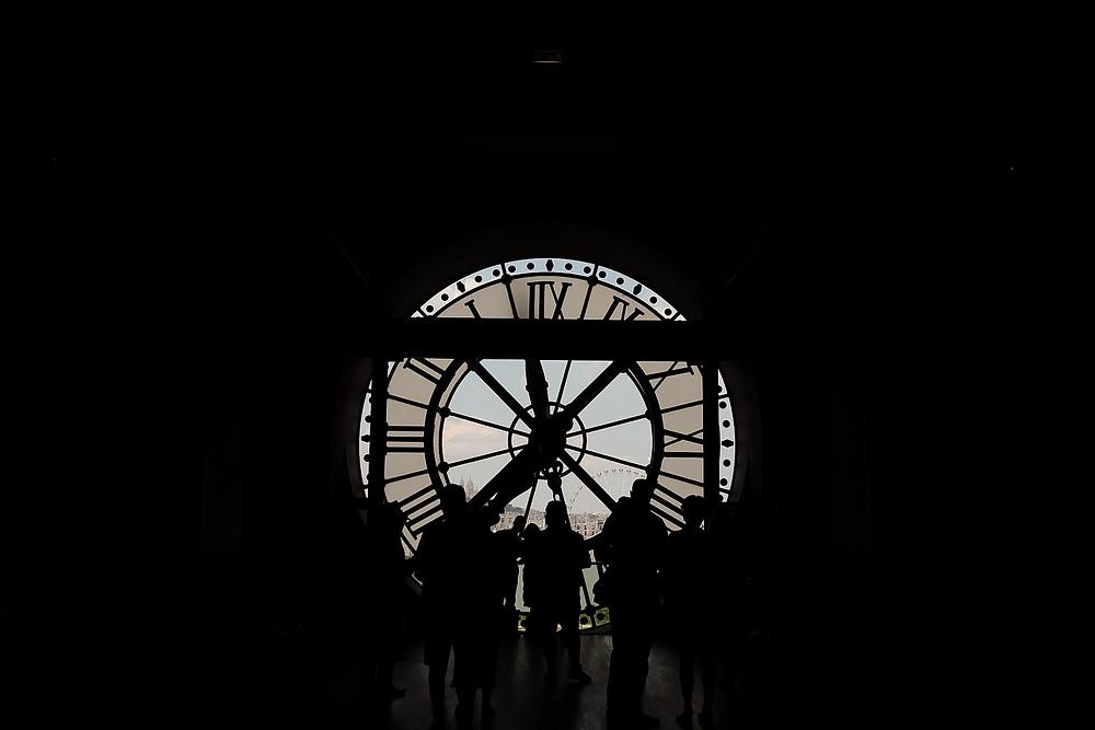 Musee d'Orsay, Clock