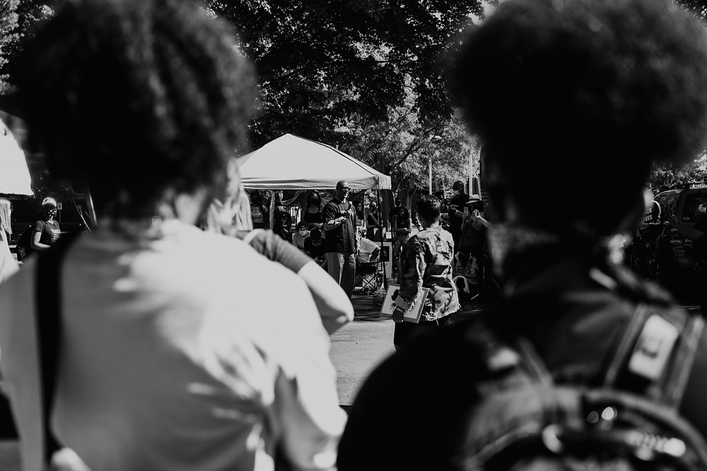 Berkley Michigan Black Lives Matter protest