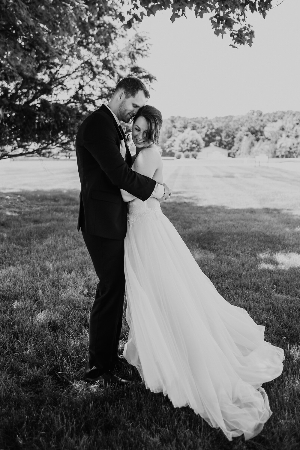Classic wedding photography in Detroit. Photographed by Nicole Leanne Photography.