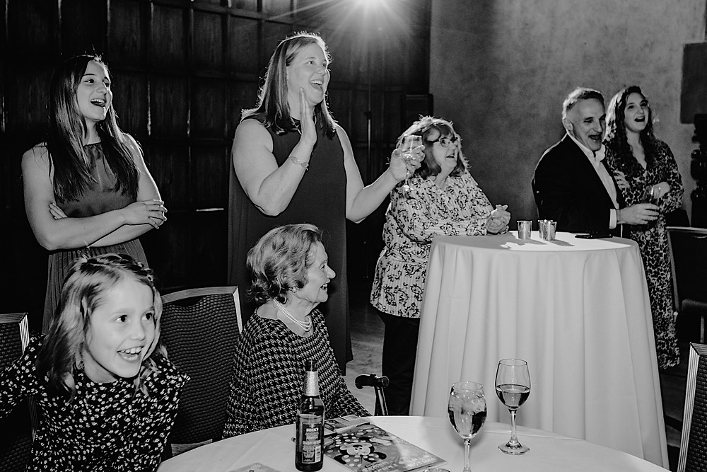 Family gathering at Meadowbrook Hall in Rochester, Michigan. Photographed by Nicole Leanne Photography.