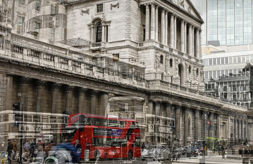 e Bank of England, London, England