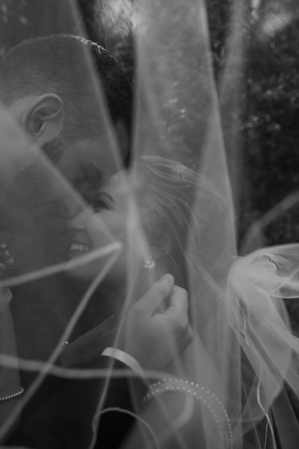 Black and white wedding day photos. Photographed by Nicole Leanne Photography.