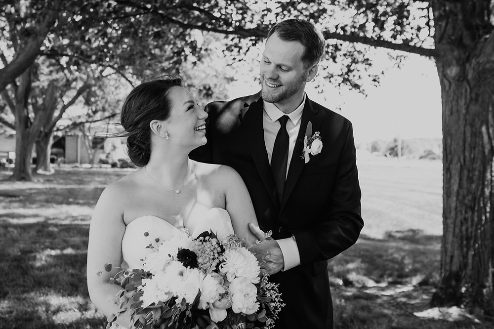 Metro Detroit lifestyle wedding photography. Photographed by Nicole Leanne Photography.
