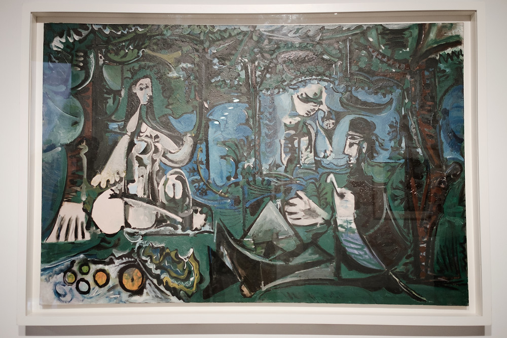 Picasso Museum, Luncheon on the Grass