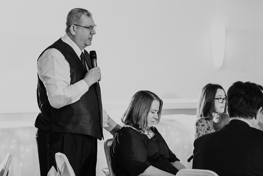 Wedding day prayer. Photographed by Nicole Leanne Photography.