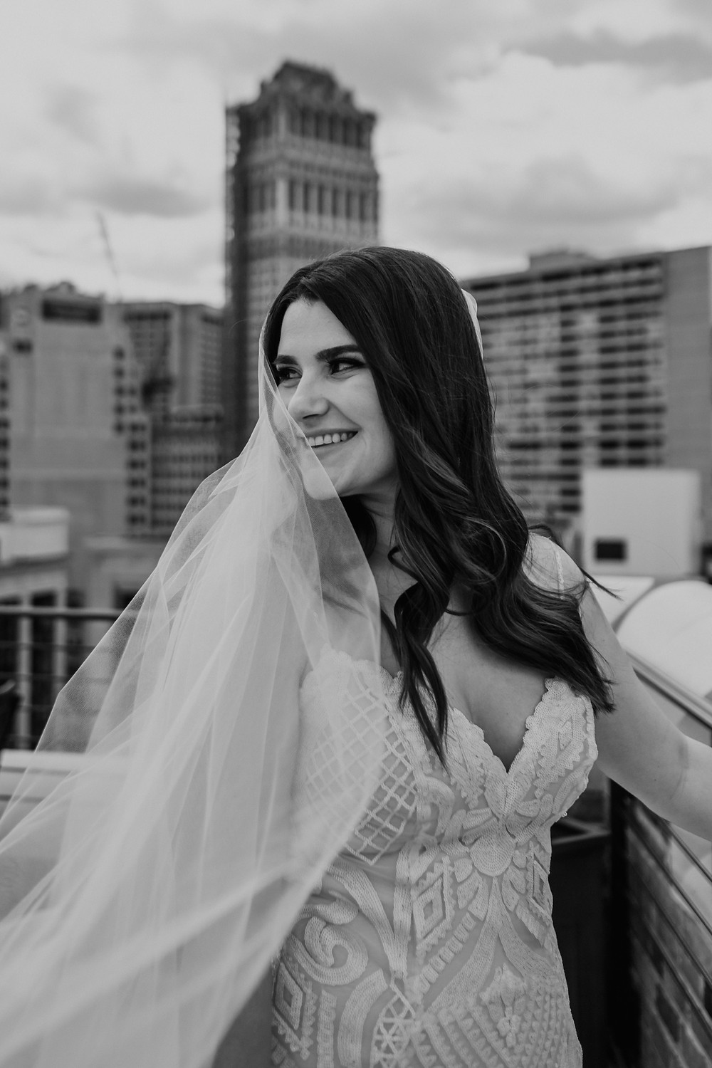 Wedding day photos in Detroit. Photographed by Nicole Leanne Photography.