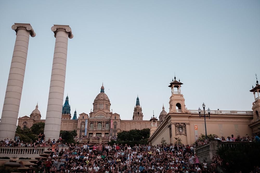 The Magic Fountain, Barcelona