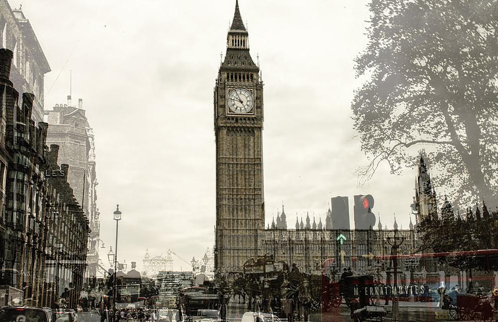 Clock Tower, Big Ben, London, England