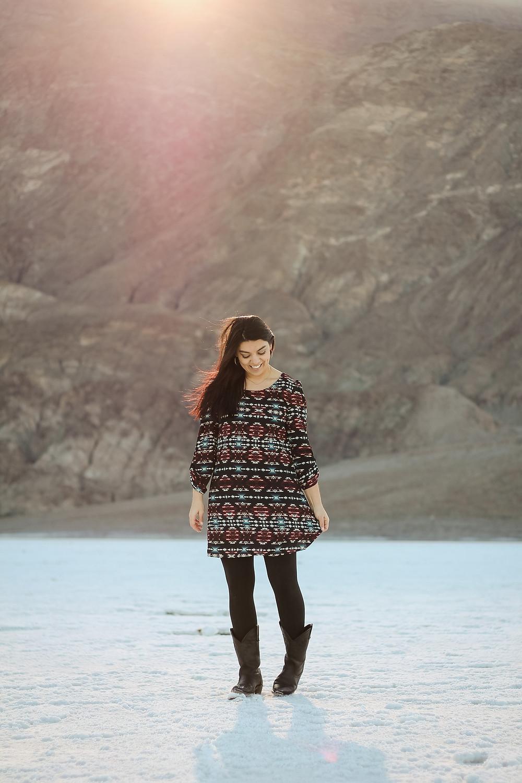 california, sunshine, desert portrait