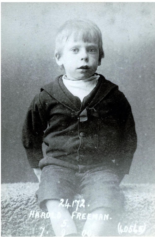 antique child photograph, barnardo home, england