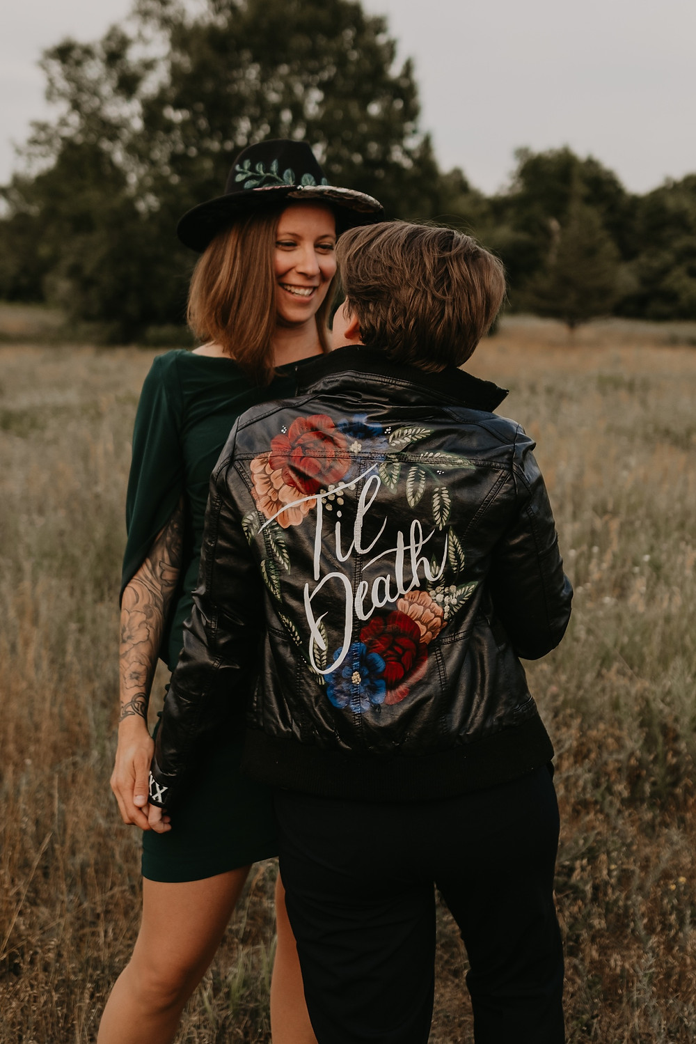 Stony Creek Metro Park couples photo session. Photographed by Nicole Leanne Photography